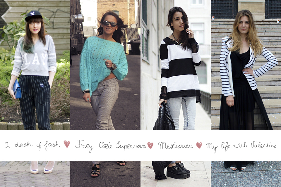 four looks one trend: how to wear stripes