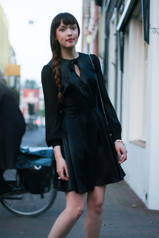 Black dress comments - Little Black Dress Top Vintage Asos Glitter Boots