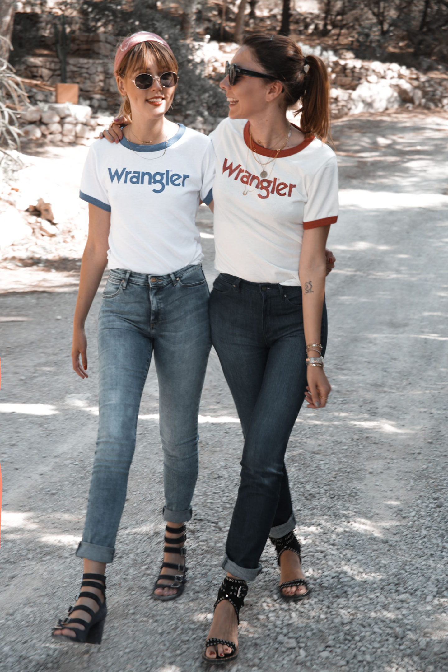 The perfect fit jeans with Wrangler