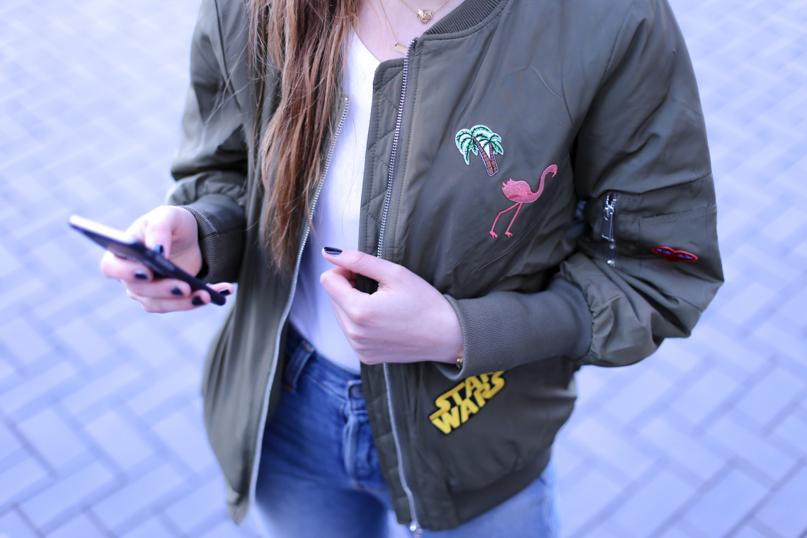 Patch it up: DIY bomber
