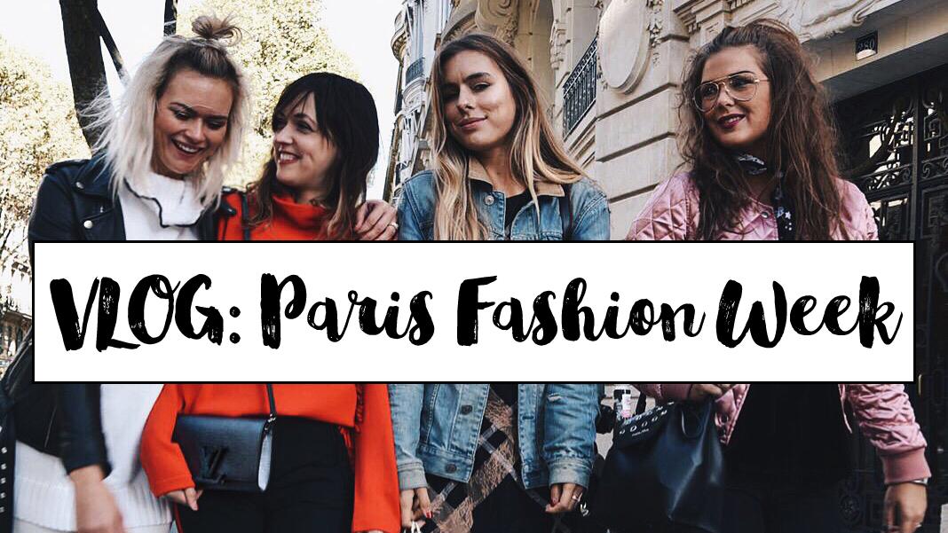 VLOG: Paris fashion week!