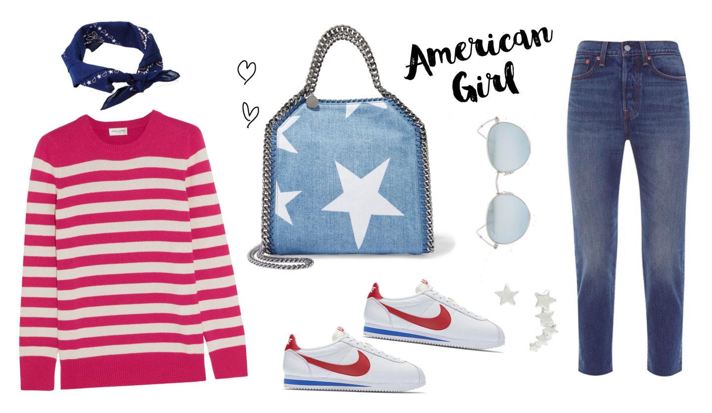 Shopping list – Stars & stripes